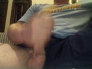 Stroking dick