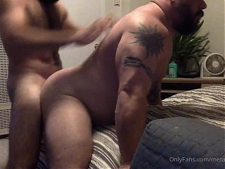 Muscle Daddy Bear Fucked Deeply