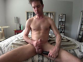 Myles Edges his Big Gorgeous Cock for you! HD PREVIEW