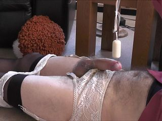 Vibrator on a pendulum  Soft, Hard on and  Cum