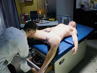 FistingInferno - Doctor Rams Massive Dildo In Patients Ass