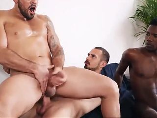 Two huge cock for Damien